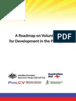 Roadmap on Volunteering for Development in the Philippines