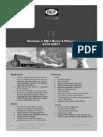 DM-4 Marine Data Sheet 4921240294 UK