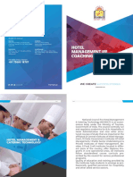 Hotel Management Brochure 2 Fold