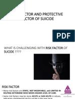 Risk Factor of Suicide