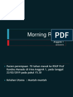 Morning Report Anggrek 1 22 Feb 19
