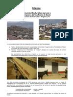 Informes de Casta y Champería para la Guía Geoturística Marcahuasi. Geoparque INGEMMET