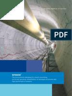 Spinor Microfine Cement Brochure