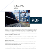 The Economic Role of the Shipping (2)