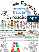 3 Professora Daucia Aee Atendimento Educacioal Especializado