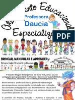 1o Professora Daucia Aee Atendimento Educacioal Especializado