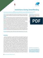 Maternal Food Breastfeeding