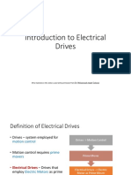 MODULE 1 - Introduction to Electrical Drives