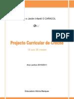 Projecto Curricular de Creche