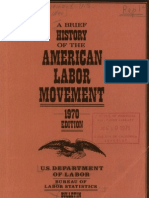 A Brief History of the American Labor Movement