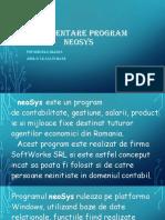 Prezentare Program NeoSys