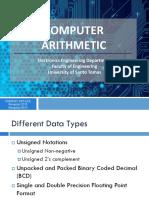 COMP 421 - Lec5_Computer Arithmetic 20142015 Students Copy