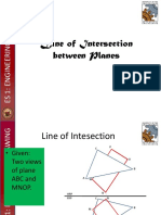 9 Line of Intersection of Planes