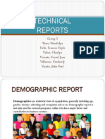 Technical Reports. Addtl Examples