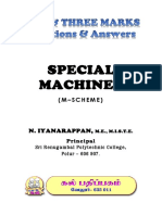 KAL Pathippagam - Diploma -  Special Machines ( English) - 2 & 3 Marks - Important Questions - DOTE - Tamilnadu