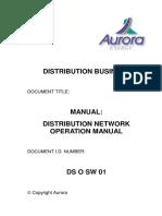Manual Distribution Network Operation Manual