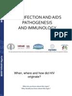 HIV Infection Immunology and Pathogenesis