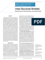 Software Defined Healthcare Networks