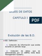 Cap 1 BD