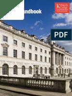 LLM Handbook 2018-19