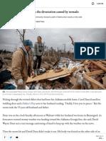 Community Struggles With the Devastation Caused by Tornado - ABC News