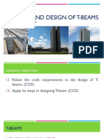 7 - Analysis and Design of T-beams