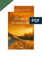 A arte da Meditação - Ricard Matthieu