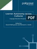 David Palfreyman, Richard C. Smith - Learner Autonomy Across Cultures_ Language Education Perspectives (2004)