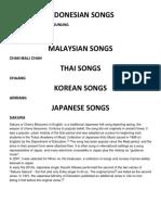 ASIAN SONGS.docx