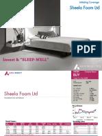 Sheela Foam Ltd - Initiaiting Coverage - 18092018_19!09!2018_08