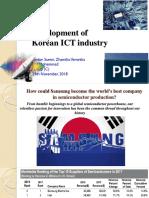 Development of Korean ICT Industry