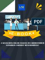 E-Book 4 Kesalahan Dalam Analisa Di Laboratorium PDF