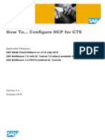 How To Configure HCP for CTS