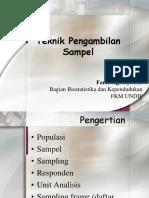 Teknik Pengambilan Sampel-1.ppt
