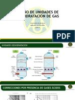 6. Diseño de Unidades de Deshidratación de Gas