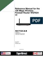 Netgear WGT624 Manual