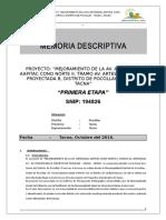 Memoria Descriptiva 1ra Etapa Avenida Artesanal_3