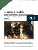 La amistad de los artistas | Babelia | EL PAÍS