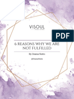 6 Reasons Why We Are Not Fulfilled