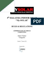 Amphibious Solar Vehicle 2019