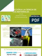Ciencia de Los Materiales Clase 1