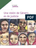 Una Visión de Género Es de Justicia