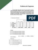 Ejercicio 1 _ Programacon Lineal