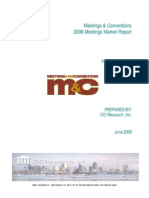 2008 Meeting Marketing Report