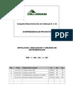 Inst. Canailz Cableado (PGP I 000 DC J 007_Rev_1)