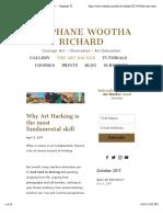 Why Art Hacking is the Most Fundamental Skill — Stephane Wootha Richard
