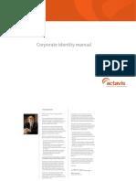 Actavis Corporate Identity Manual May