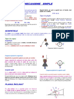 FIZICA Mecanisme Simple