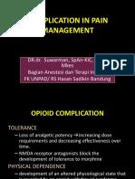 Komplikasi Pain Management