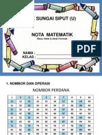 Nota Matematik